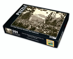1915 Rocky Mountain National Park Dedication Puzzle